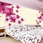 3d Şık Yatak Odası Duvar Kağıtları