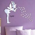 Bebek Odası Sticker İsimli-7