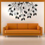 Dekoratif Salon Duvar Stickerları