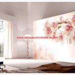 Desenli Salon Duvar Kağıtları