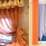 Farklı Rustik Mutfak Perdeleri