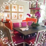 Fuşya Rengi Mutfak Masaları