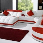 Kırmızı Beyaz Oturma Grubu Modelleri-2019