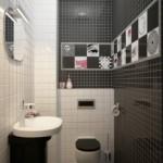 Küçük Banyo Fikirleri-2