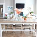 Modern Rustik Mutfak Masası