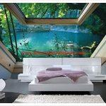 Renkli Yatak Odası Duvar Kağıtları
