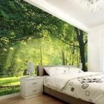 Resimli Yatak Odası Duvar Kağıtları 2019