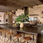 Rustik Mutfak Dolabı Tasarımları-3