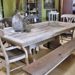 Rustik Mutfak Masa Takımı