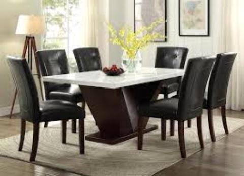Rustik Yemek Odası Masaları-2