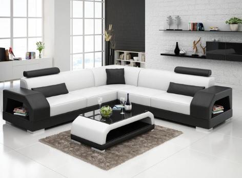 Siyah Beyaz Oturma Grubu Modelleri 2019 Dekorasyon Modelleri