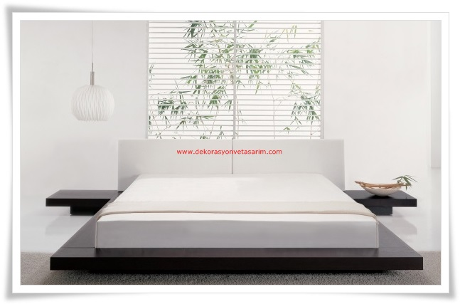 Modern Minimalist Yatak Odalari