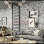 Taş Desenli Duvar Kağıdı Modelleri