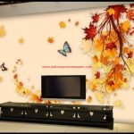 Tv Arkası 3 D Duvar Kağıtları