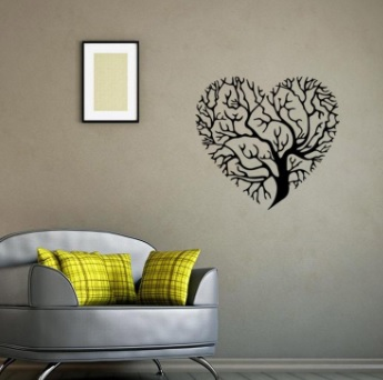 Dekoratif Salon Duvar Stickerları-7