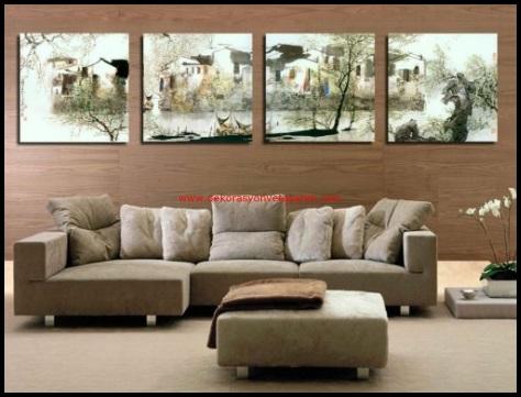 Dekoratif Salon Duvar Tabloları-4