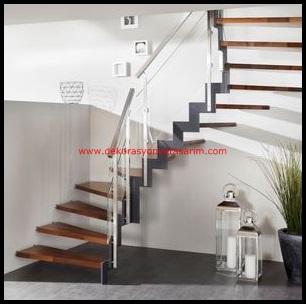 Dublex Ev Merdiven Modelleri ve Basamakları-4