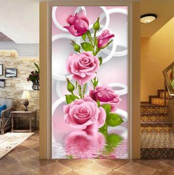 Dekoratif Salon Duvar Stickerları-10