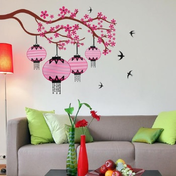 Dekoratif Salon Duvar Stickerları-11