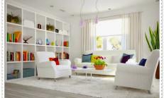 Beyaz Renk Ev Dekorasyonları