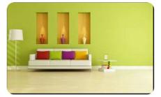 Elma Yeşili Duvar Boyası
