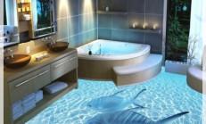 Deniz Temalı Banyo Dekorasyonu