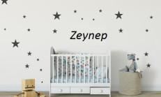 Bebek Odası Sticker İsimli