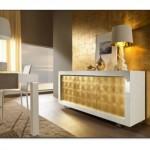 Altın Rengi Salon Dekorasyonu
