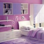 Lila Rengi Çocuk Odası