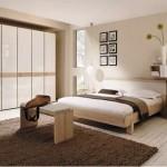 Bej Rengi Yatak Odası