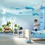 Çok Güzel Çocuk Odası Duvar Kağıdı