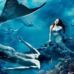Deniz Kızı Resimli Duvar Kağıdı