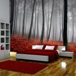 Doğa Resimli Yatak Odası Duvar Kağıdı