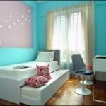 Cam Göbeği Mavisi Genç Kız Odası