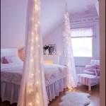 Romantik Yatak Odası Işıklandırma
