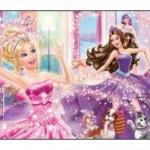 Barbie Çocuk Odası Halısı-3