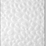Beyaz Kabartmalı Halı Modeli
