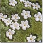 Çiçek Desenli Oyma Halı Modelleri