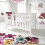 Dekoratif Bebek Odası Halısı