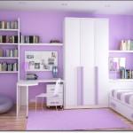 Genç Odası Lila Halı Modelleri