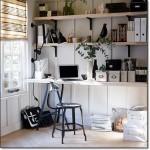 Siyah Beyaz Home Ofis