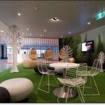 Yeşil Ofis Halısı