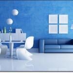 Mavi Salon Modelleri-3