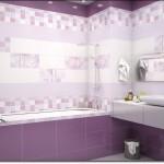 Mor Renkli Banyo