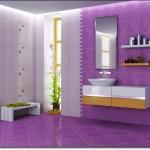 Mor Renkli Banyo Modelleri-14