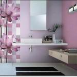 Mor Renkli Banyo Modelleri-2