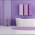 Mor Renkli Banyo Modelleri-3