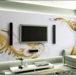 Tv Arkası Duvar Kağıdı Modelleri