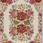 Apex Çiçek Desenli Halı
