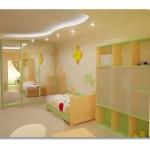 Bebek Odası Asma Tavan Modelleri